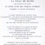 Remerciements ville de Reims