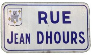 Rue Jean Dhours à Verberie