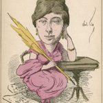 Juliette Adam caricature