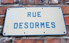 Rue Desormes à Verberie