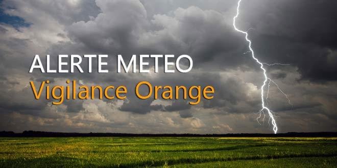 Alerte météo Verberie | Vigilance orange -> orages violents ! Soyez prudents !