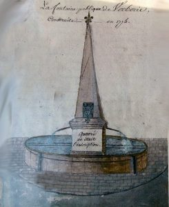 La fontaine de Verberie