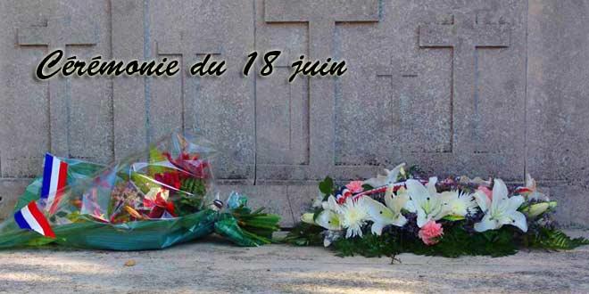 Commémoration du 18 juin à Verberie
