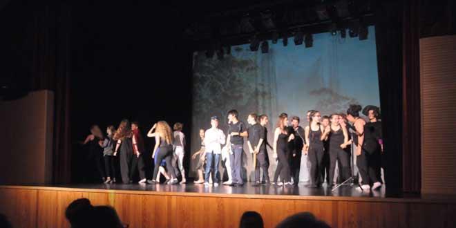 Théâtre au collège : les photos