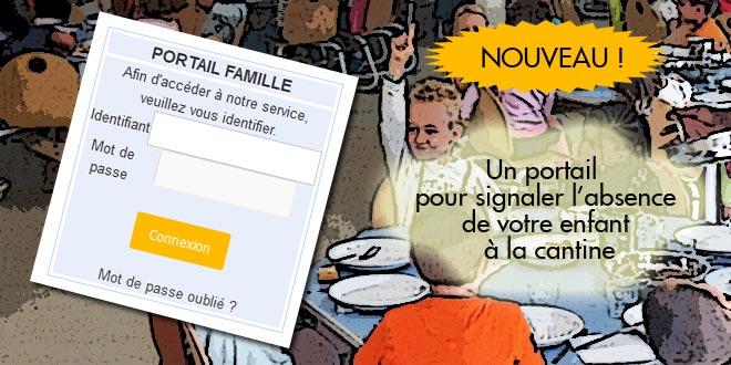 Dès septembre, vous pourrez signaler l'absence de votre enfant à la cantine directement en ligne.