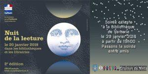 Nuit de la lecture @ bibliotheque de Verberie | Verberie | Hauts-de-France | France