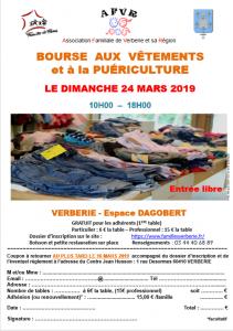 Bourse aux vêtements @ Espace Dagobert - Verberie